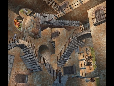 Fallout 4: Relativity by M.C.Escher. PS4 Pro + Mods.