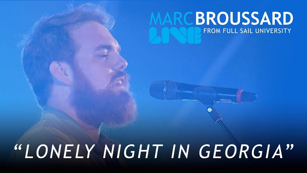Marc broussard lonely night in georgia