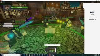 Roblox Sk8r Dex Explorer in Dungeon Quest al lavoro!