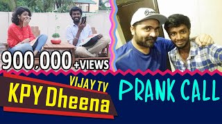 KPY Dheena - Vijay Tv on 'D' Chat / Prank Call / Full Fun Interview /Simbhu/Bigg Boss 2/Raiza Wilson