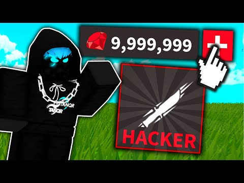 """I spent Robux to become a """"HACKER"""" in Roblox.."""
