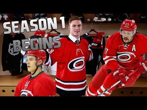 SEASON 1 BEGINS - NHL 19 - Carolina Hurricanes Franchise Mode Ep. 2