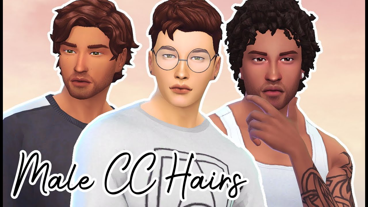 THE SIMS 4 MALE MAXIS MATCH HAIR COLLECTION // SHOWCASE DOWNLOAD LINKS
