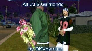 Gta San Andreas All Cjs Girlfriends