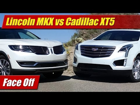 Face Off: Lincoln MKX vs Cadillac XT5