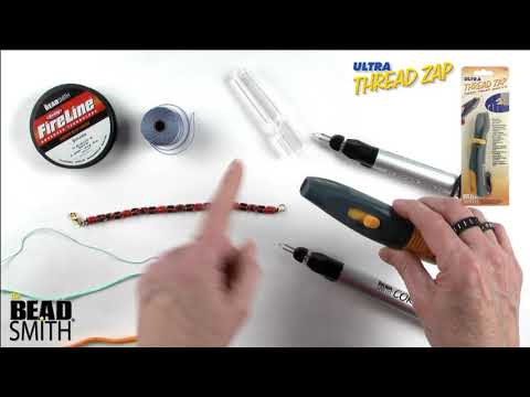 ThreadZap™ & CordZap™ thread and cord burners by the BeadSmith®