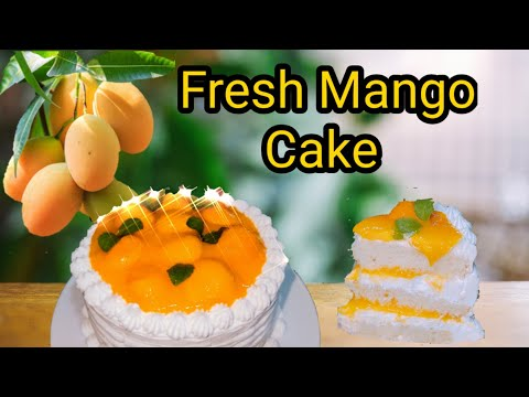 Fresh Mango Cake Frosting