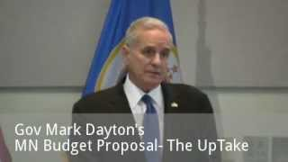 Governor Dayton Unveils His MN Budget Proposal - Full News Conference