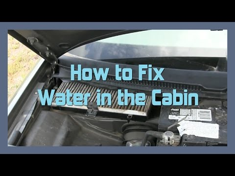 How to Fix Water in the Cabin - AUDI ALLROAD A6 C5 2001-2005