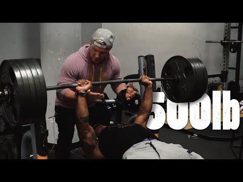 500lb 226kg Bench .. Enough Said   Dominate Or Be Weak