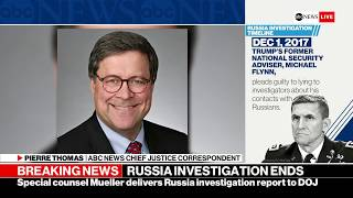 Special counsel Robert Mueller has handed his highly anticipated re...
