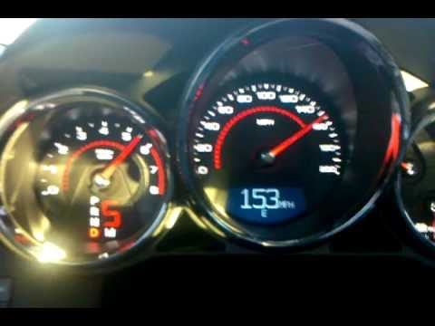 CTS-V top speed acceleration test - or as much of - YouTube