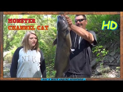 DAUGHTER Lands 25LB CHANNEL CATFISH