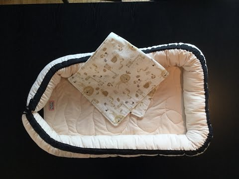 How to sew a baby nest - step by step tutorial to make your own dockatot