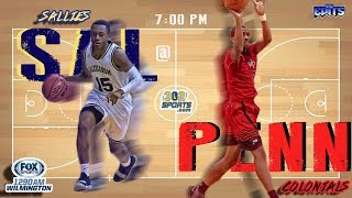 302Sports/Fox Sports Salesianum visits William Penn Basketball LIVE