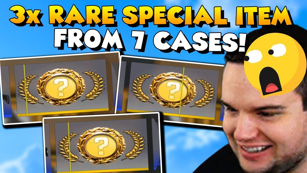 Download UNBOXING 3 RARE SPECIAL ITEMS FROM 7 CASES!! 😱😄