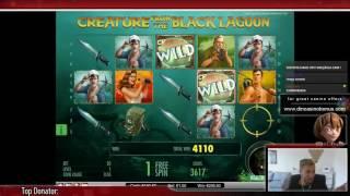 SUPER MEGA BIG WIN - Creature from the black lagoon (Killing creature)