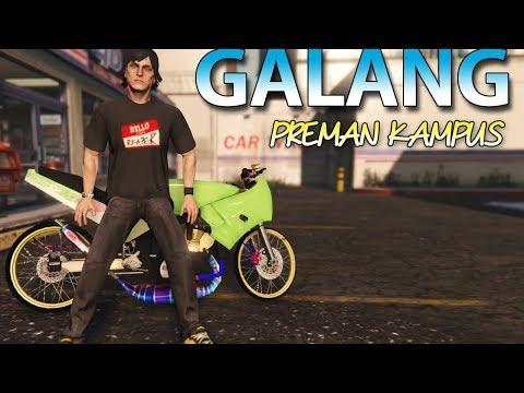 GTA 5 KAWASAKI MOTOR GALANG PREMAN KAMPUS