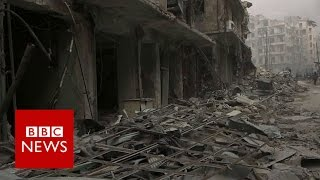 Syria rebels 'withdraw from Old City' of Aleppo- BBC News