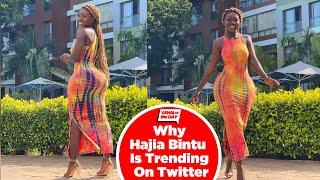 Why Hajia Bintu Is Trending On Twitter