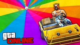 NO ROOM FOR ERROR!! SUPER CHALLENGING SKILL TEST ON THE NEW MACHINE FROM THE HOPPER IN GTA 5 ONLINE