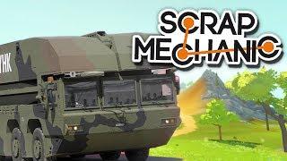 МАШИНА-МОСТ и другие применения пистонов! | Scrap Mechanic (0.2.7)
