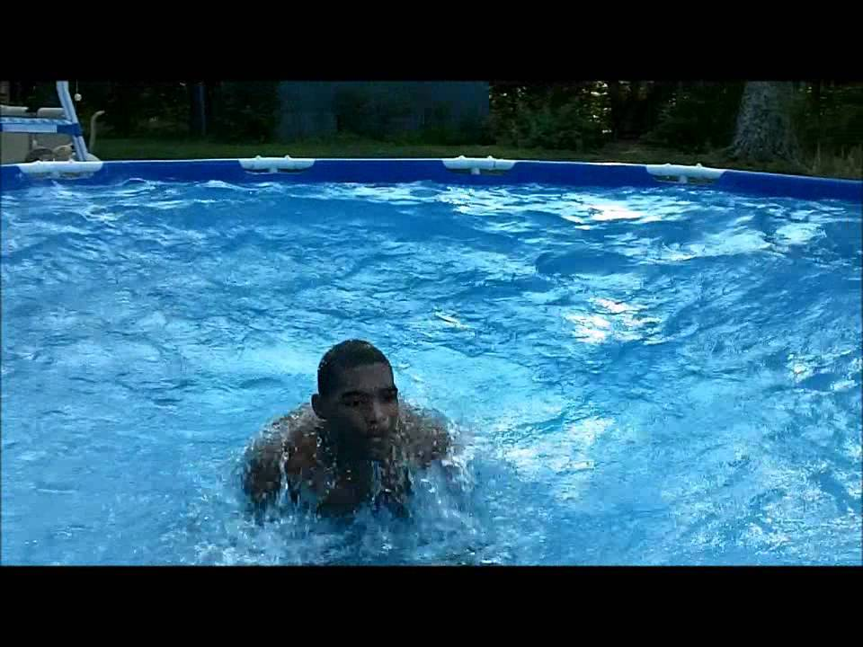 How to make a wave pool in your own backyard pool youtube for Build your pool