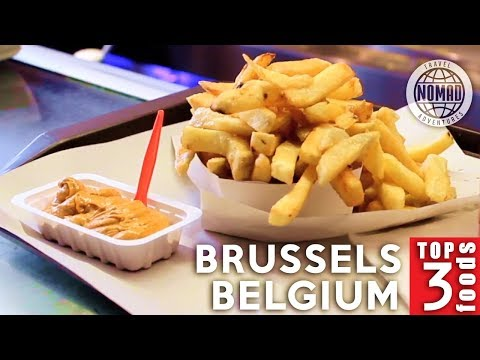 Top 3 Belgian Foods to Eat | Brussels, Belgium