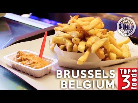 Top 3 Belgian Foods to Eat | Brussels, Belgium