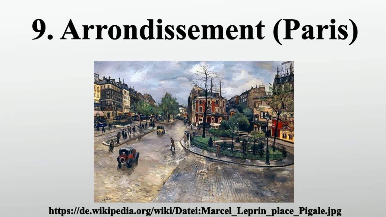 9 Arrondissement Paris