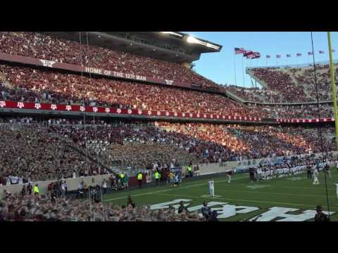 Aggie War Hymn After UCLA Overtime Win 2016