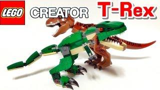 레고 크리에이터 31058 힘센 공룡 티라노사우루스 상황극 놀이 리뷰 LEGO Creator Mighty Dinosaurs