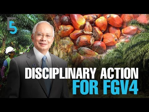 EVENING 5: Najib: Disciplinary Action against FGV's 4 Officers to Continue