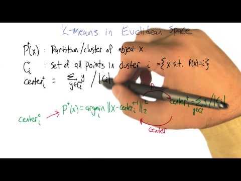 K Means in Euclidean Space Part 1 - Georgia Tech - Machine Learning