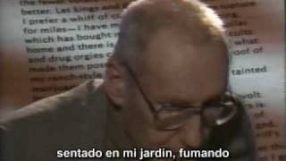 WILLIAM S. BURROUGHS Commissioner of sewers - Fragmentos - Subtítulos castellano (1/2)