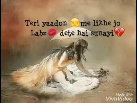 Tujhe bhula diya female version..sad song best for whtsapp status ..