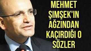 Bakan Mehmet Şimşek'in Ağzından Kaçırdığı O Sözler! Kanal Milli Görüş