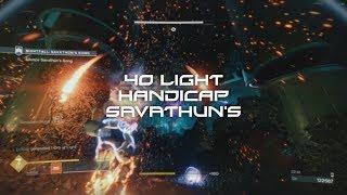 Destiny 2: 40 Light Handicap Savathun's Song