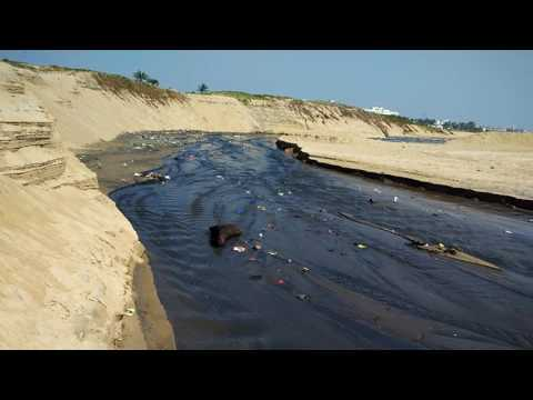 Sea Water pollution at Puri, Odisha,India