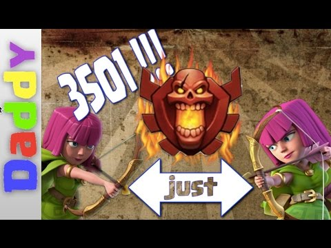 Clash Of Clans  | How YOU can get to 3500 for free with just Archers
