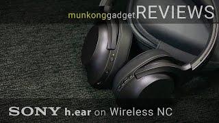 รีวิว : หูฟัง Sony h.ear on Wireless (MDR 100ABN)