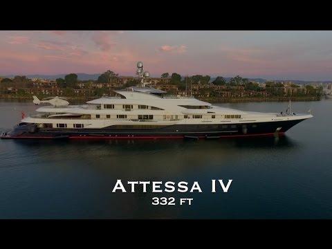 Attessa IV Mega Yacht YouTube