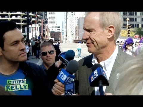 Anti-Trump GOP Gov. Rauner gets owned on Bill Clinton Rape