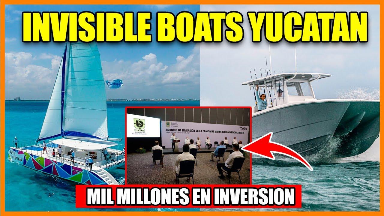 Anuncian inversión para la fabricación de botes marinos y catamaranes en  Yucatán