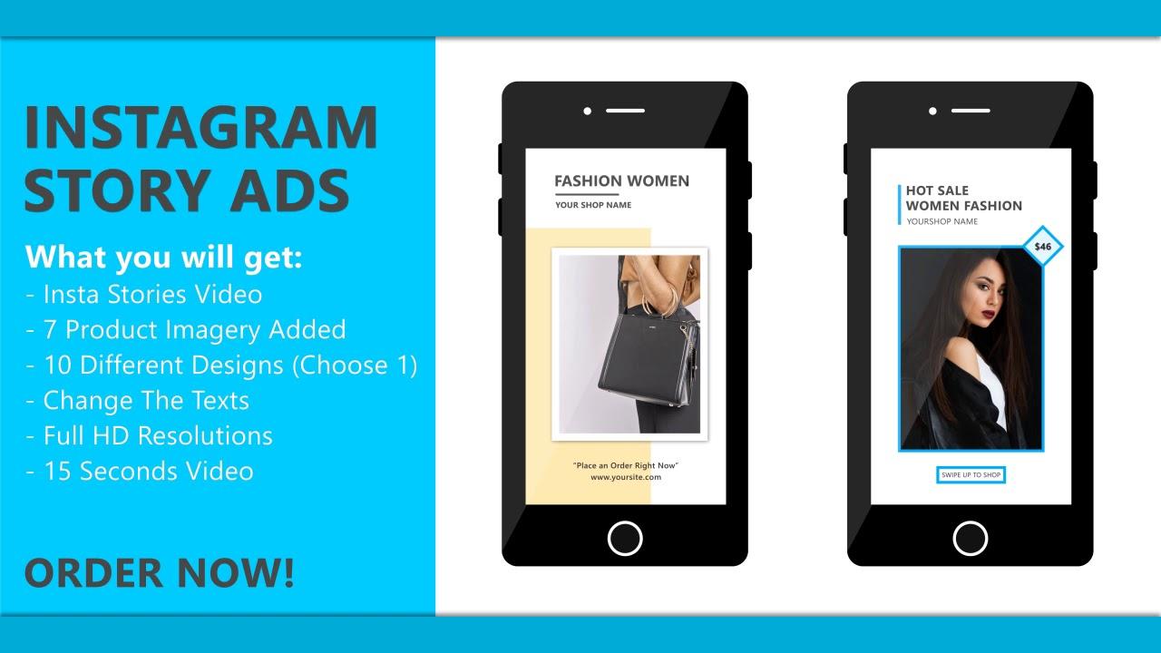 Make Instagram Story ad for you for £10 : Jodi - fivesquid