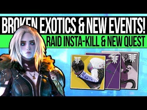 Destiny 2 | RITUAL EVENT & RIVEN INSTAKILL! Exotic Broken, Quest Shortcut, New Challenge & More!