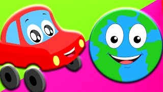 Planeten-Lied | lernen Planeten | Autos Lied und Reime | Learn Planets | Kids Car Song | Planet Song