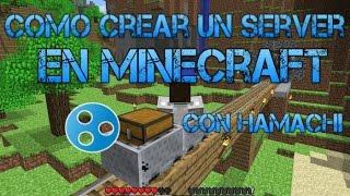 Como hacer un Server de Minecraft Con Hamachi 1.13.2 1.13 1.11.2 , 1.12 y 1.12.2