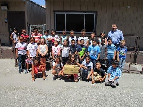 ICOM  Donation - Dorothy Grant Elementary School (K6DGE), Fontana, CA - 08/11/17