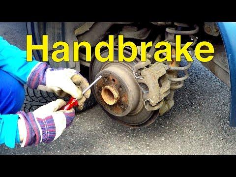 Saab 9-5 DIY: Handbrake Adjustment – Trionic Seven